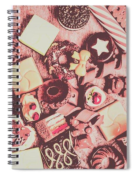 Sugar Sweet Assortment Spiral Notebook