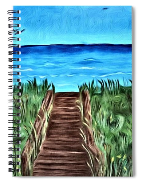 Summer Day Spiral Notebook