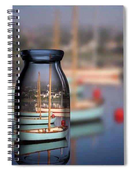 Summer Evening Denmark  Spiral Notebook