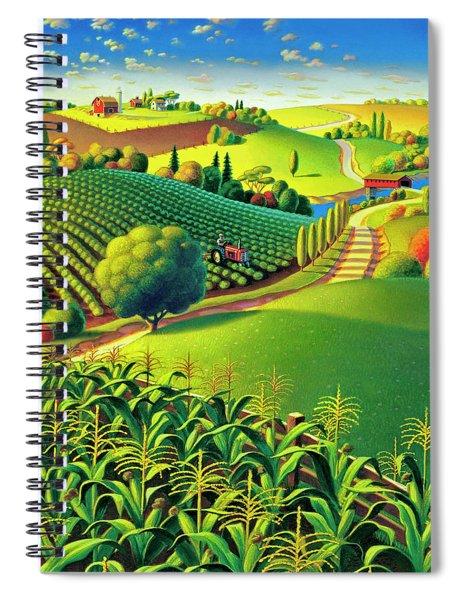 Summer Fields Spiral Notebook