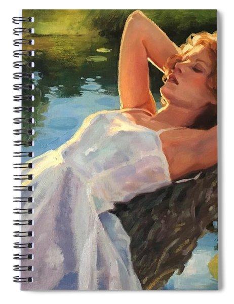 Summer Idyll Spiral Notebook