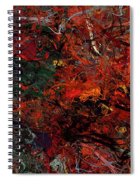 Summer In Paris Spiral Notebook