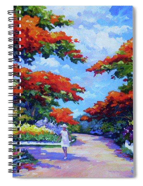 Summer In Savannah Spiral Notebook