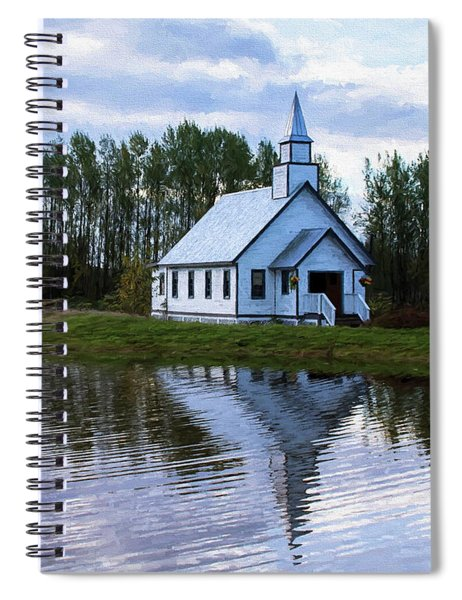 Summer In The Valley - Hope Valley Art Spiral Notebook