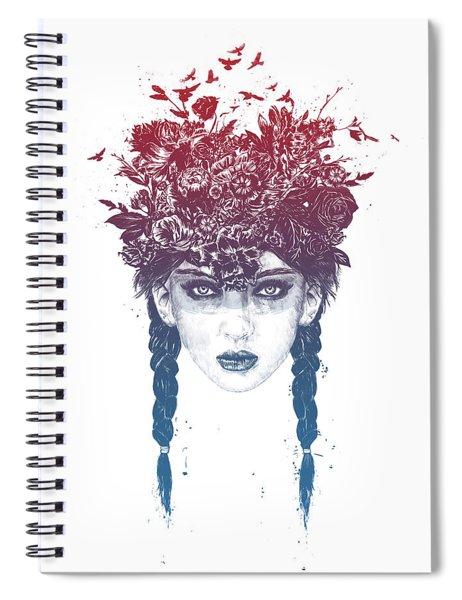 Summer Queen Spiral Notebook