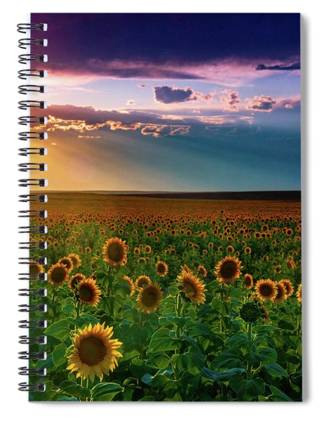 Summer Season Spiral Notebook by John De Bord
