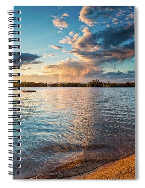 Summer Shower  Spiral Notebook