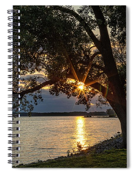 Spiral Notebook featuring the photograph Summer Solstice 2019 by Rod Best