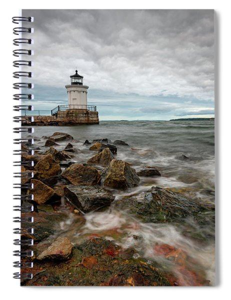 Summer Tides At Bug Light Spiral Notebook