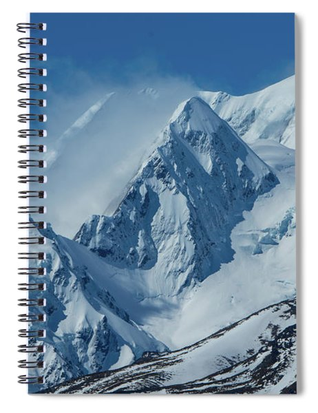 Summer Winds In Mount Cook National Park Spiral Notebook