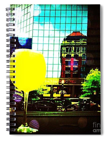 Summertime Downtown Lexington  Spiral Notebook
