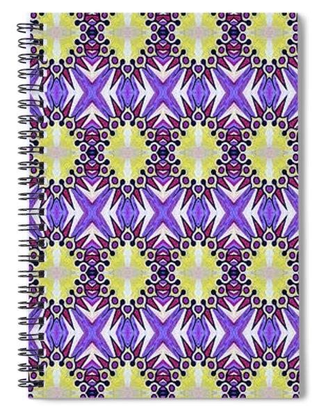 Sun Abstract Spiral Notebook