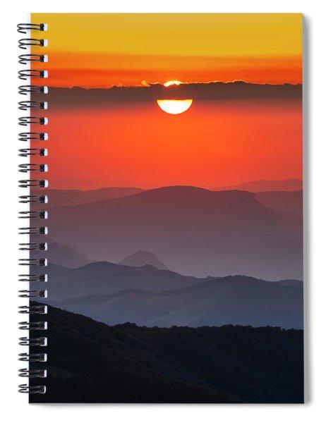 Sun Eye Spiral Notebook