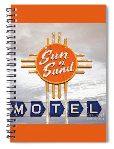 Sun 'n Sand Motel  Spiral Notebook