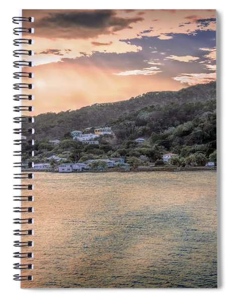 Sunbeams And Reflections Spiral Notebook