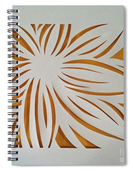 Sunburst Petals Spiral Notebook