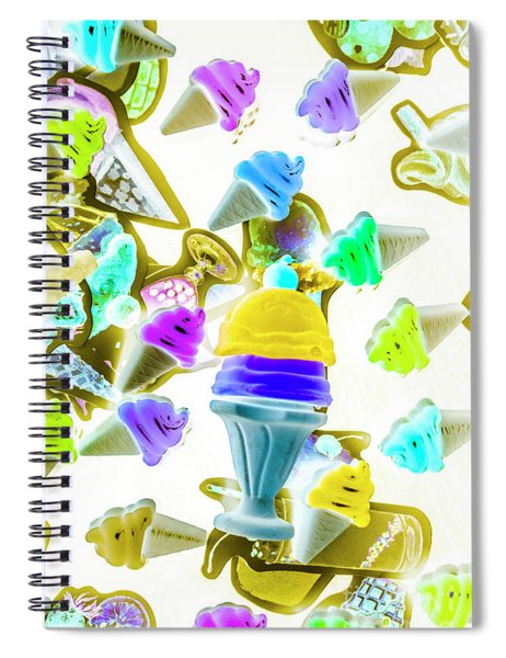 Sundae. Everyday. Spiral Notebook
