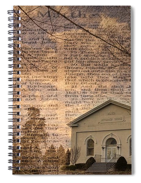 Sunday Morning Kind Of Love Spiral Notebook