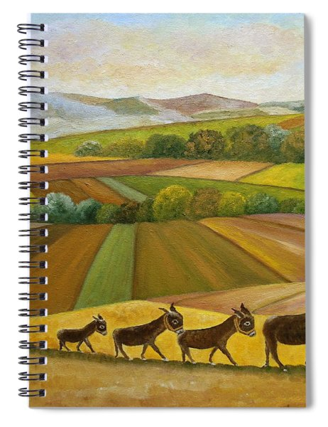 Sunday Promenade Spiral Notebook