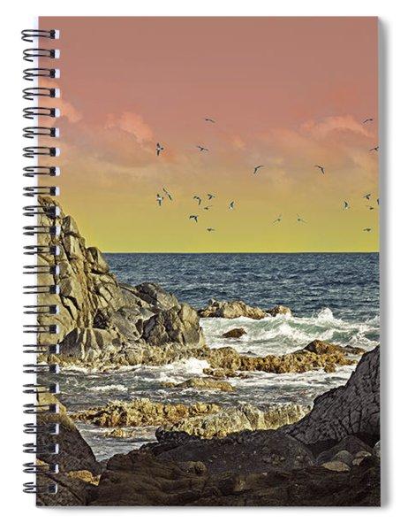 Sundown At Buck Spiral Notebook