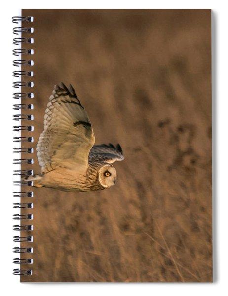 Sundown Flyby Spiral Notebook