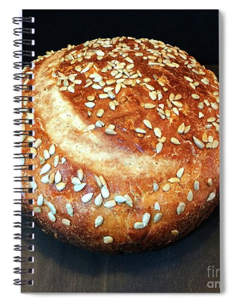 Sunflower Seed Sourdough Spiral Notebook