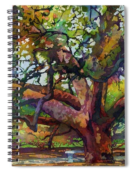 Sunlit Century Tree Spiral Notebook