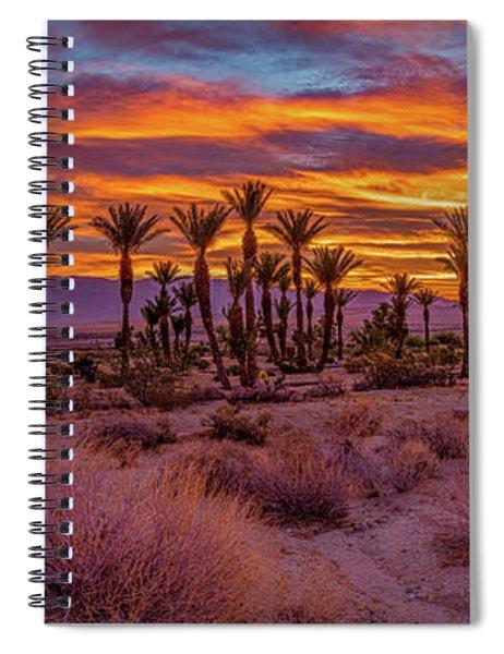 Sunrise - Borrego Springs Spiral Notebook