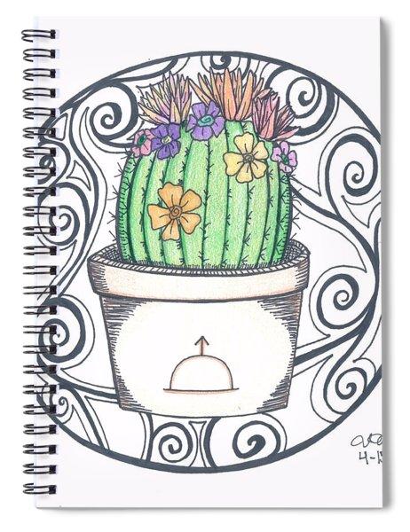 Sunrise Cactus Spiral Notebook