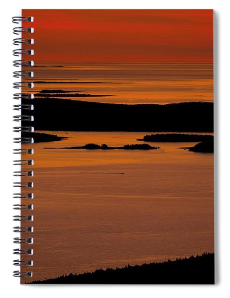 Sunrise Cadillac Mountain Spiral Notebook