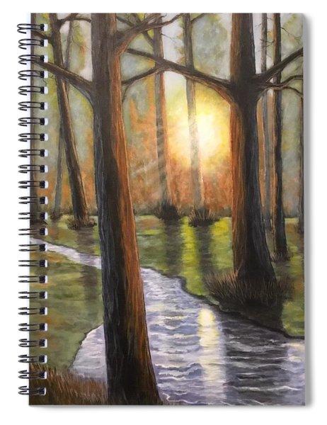 Sunrise Creek II Spiral Notebook