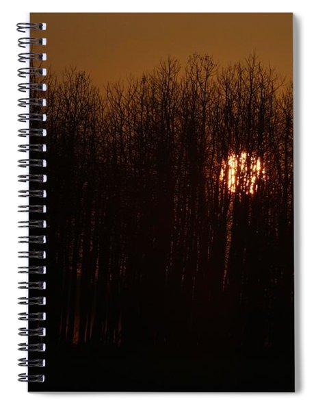 Sunrise Glow Spiral Notebook