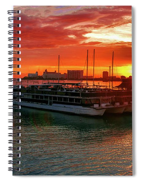 Sunrise In Cancun Spiral Notebook