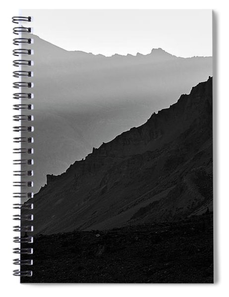 Sunrise In The Himalayas Spiral Notebook