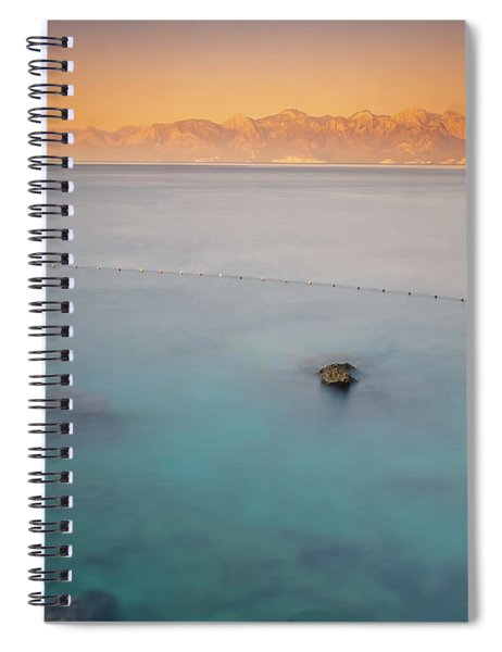 Sunrise In Turkey Spiral Notebook
