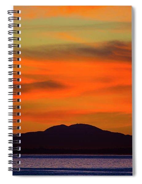 Sunrise Over Santa Monica Bay Spiral Notebook