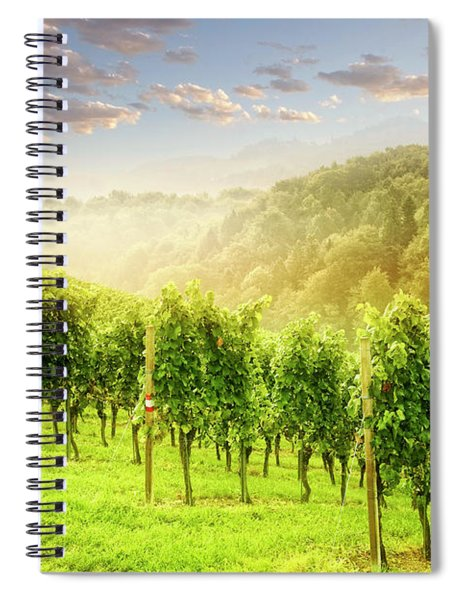 Sunrise Over Styria Spiral Notebook