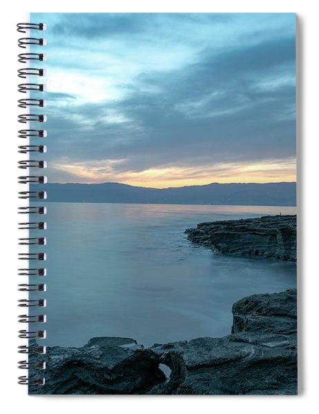 Before Dawn At The Dead Sea Spiral Notebook