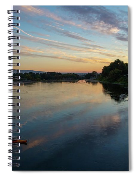 Sunrise Paddle Spiral Notebook