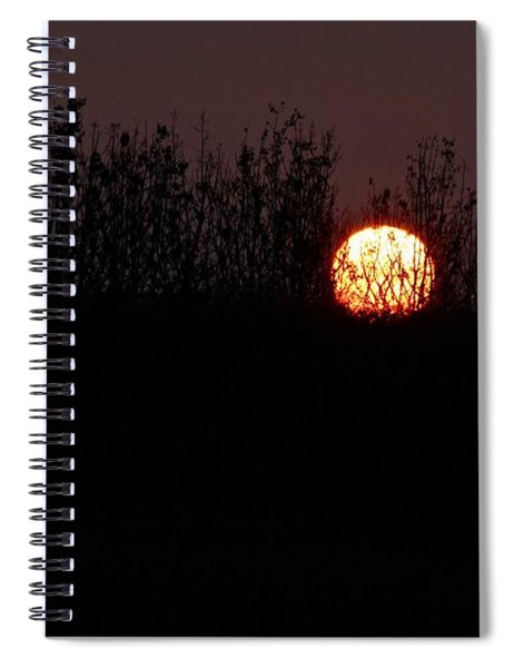 Sunrise Silhouette Spiral Notebook