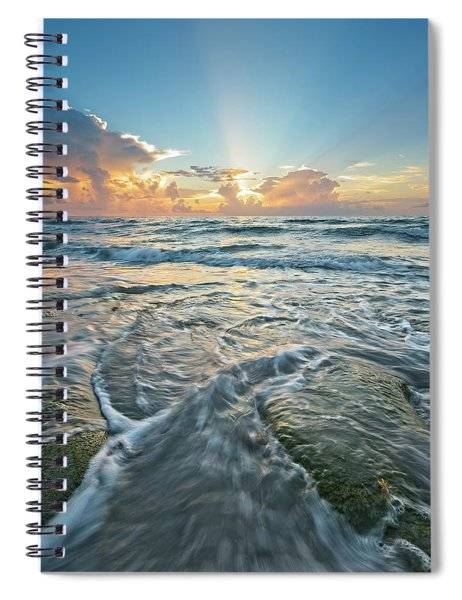 Sunrise Sunbeams Spiral Notebook
