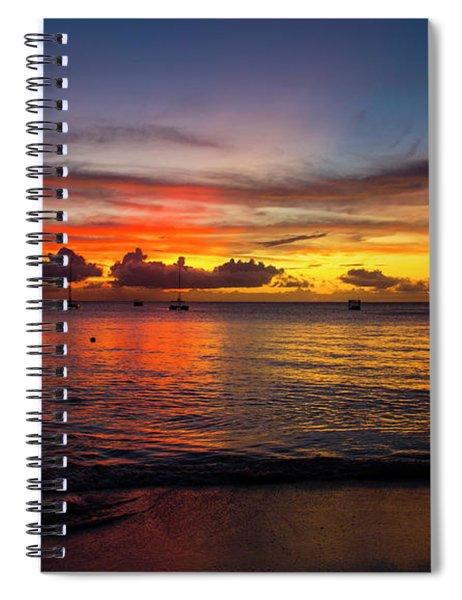 Sunset 4 No Filter Spiral Notebook
