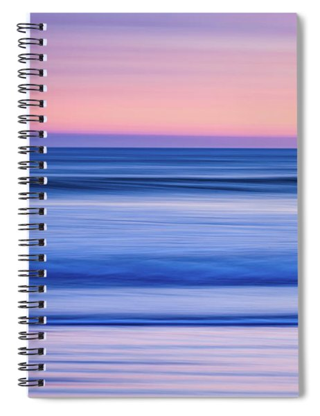 Sunset Abstract Spiral Notebook