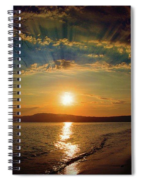 Sunset Artistry Spiral Notebook