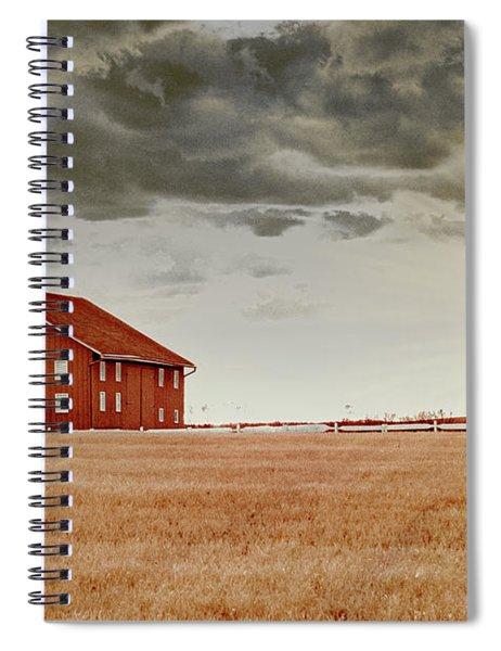 Sunset Barn Spiral Notebook