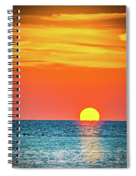 Sunset Captiva  Spiral Notebook