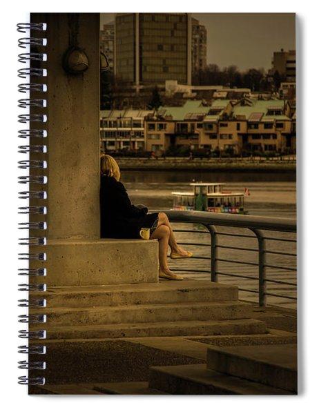 Sunset Enjoyment Spiral Notebook