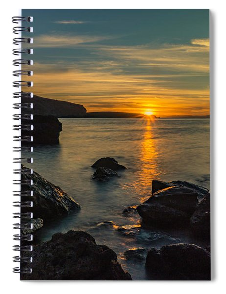 Sunset In Balandra Spiral Notebook