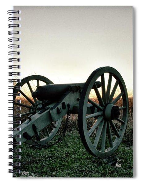 Sunset In Defense Spiral Notebook