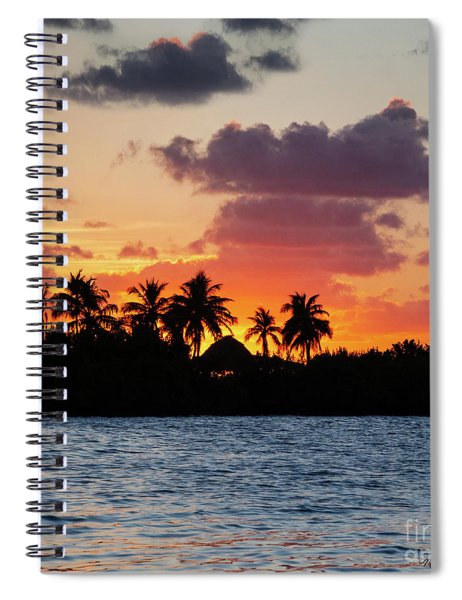 Sunset In The Florida Keys Spiral Notebook